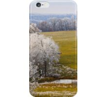 Retired For The Season, Brannon Mt. NW Arkansas, USA iPhone Case/Skin