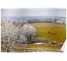 Retired For The Season, Brannon Mt. NW Arkansas, USA Poster