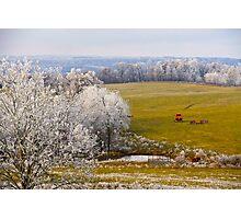 Retired For The Season, Brannon Mt. NW Arkansas, USA Photographic Print