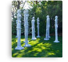 Garden Sculptures, New Zealand. Canvas Print