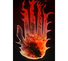 Blood On These Hands Photographic Print
