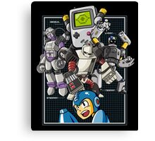 Console Master Robots Canvas Print