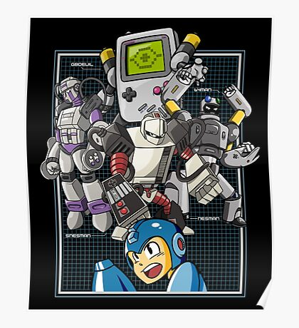 Console Master Robots Poster