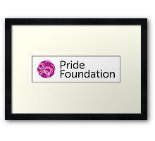 Pride Foundation Framed Print
