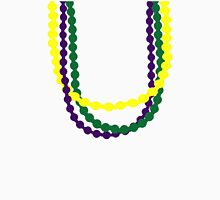 Mardi Gras beads Womens Fitted T-Shirt