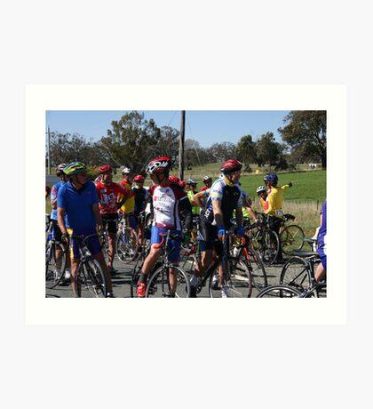 ACT Vets Cycling Club Art Print