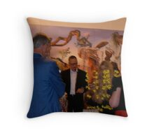 movement to see Throw Pillow
