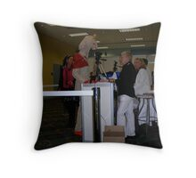 May I see your ID? Throw Pillow