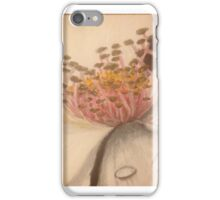 Flower with Dew Drops iPhone Case/Skin