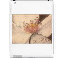 Flower with Dew Drops iPad Case/Skin