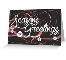 Season Greetings Greeting Card