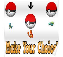 Make your choice? Poster