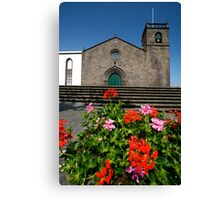 Sao Miguel Arcanjo church Canvas Print