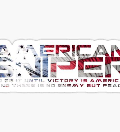 American Sniper Sticker