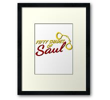 Fifty Shades of Saul Framed Print