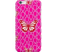 Girls Pink Butterfly Design iPhone Case/Skin
