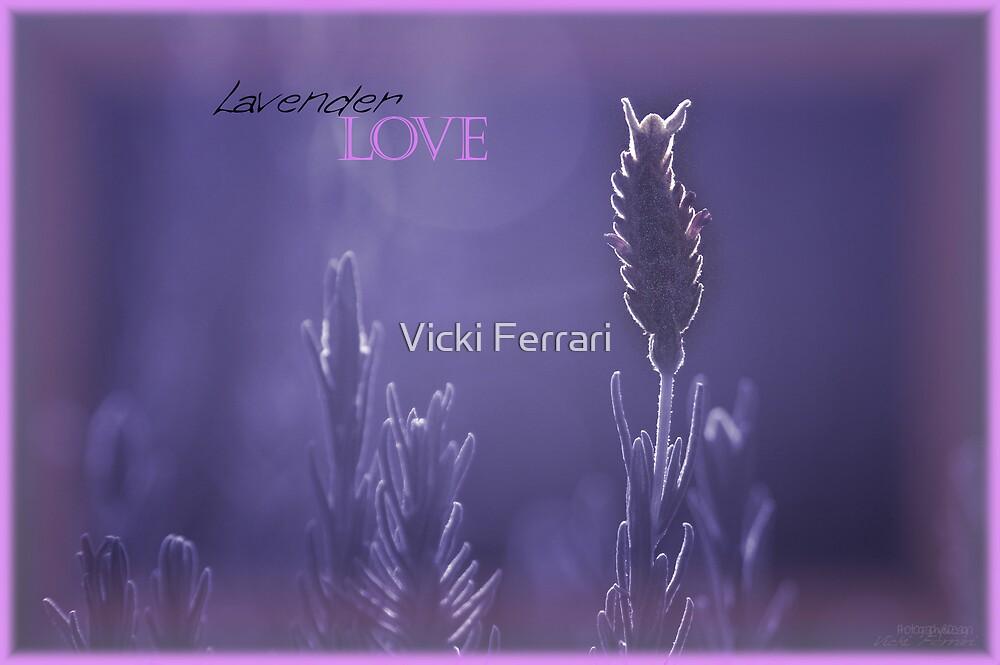 Lavender Love © by Vicki Ferrari