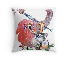The Color Witch Throw Pillow