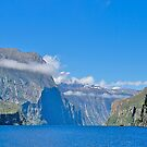 Entrance to Milford Sound, South Island, New Zealand. by johnrf