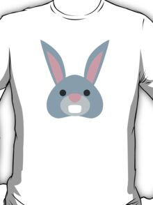 Rabbit Face Twitter Emoji T-Shirt