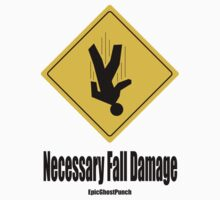 EpicGhostPunch: Necessary Fall Damage by AngoraART