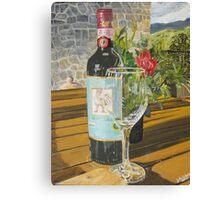 Still Life in Chianti Canvas Print