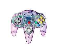 Nintendo 64 Controller Atomic Purple by James Borg