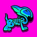 Bullies Letter Character Turquoise and Blue by Sookiesooker