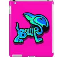 Bullies Letter Character Turquoise and Blue iPad Case/Skin