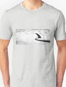 Single fin Surfboard Unisex T-Shirt