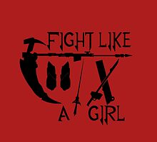 Fight Like A Girl by peacockz