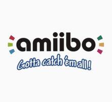 Amiibo - Gotta Catch 'em All T-Shirt