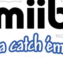 Amiibo - Gotta Catch 'em All Sticker