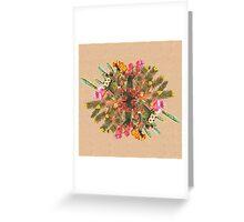 Cactus Planet Greeting Card
