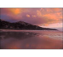 Norman Bay Sunset- Wilson's Prom.Nat.Park Photographic Print