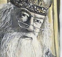 Dumbledore   aceo by mmdstudios