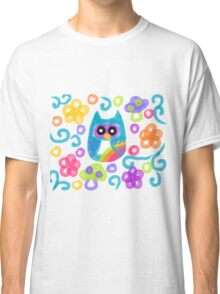 Watercolor RainbOwl Classic T-Shirt