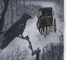 Raven Sentinal   ACEO by mmdstudios