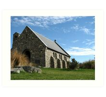 Church of the Good Shepherd, Lake Tekapo NZ Art Print