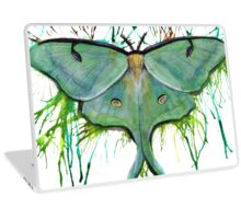 Luna Moth  Laptop Skin