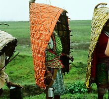 Tribal Rain-coat by Biren Brahmbhatt