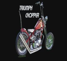 TRIUMPH CHOPPER by Henry VanderJagt