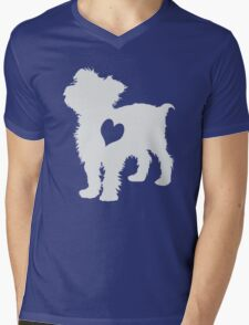 Adore Yorkies: Version Two Mens V-Neck T-Shirt