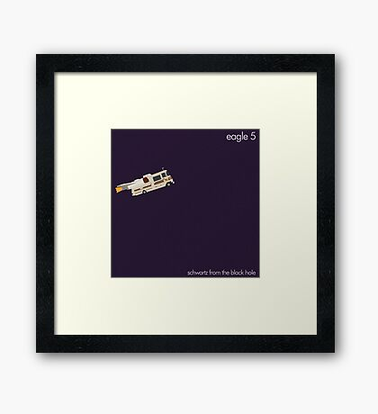 Schwartz from the black hole Framed Print