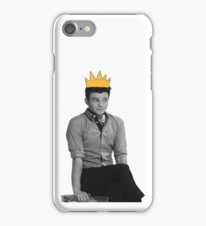 Chris Colfer Queen iPhone Case/Skin