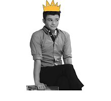Chris Colfer Queen by Beatlemily