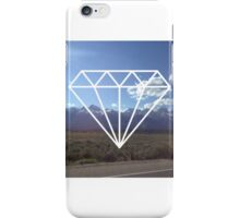 DIAMONDS AND MOUNTAINS iPhone Case/Skin