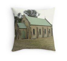 St patricks catholic church at Amphitheatre near Elmhurst Victoria Throw Pillow