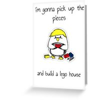 Lego House Penguin Greeting Card