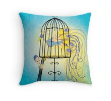 In the Woods 4.4 Throw Pillow